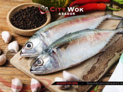 pescado Asador City Wok Guipúzcoa