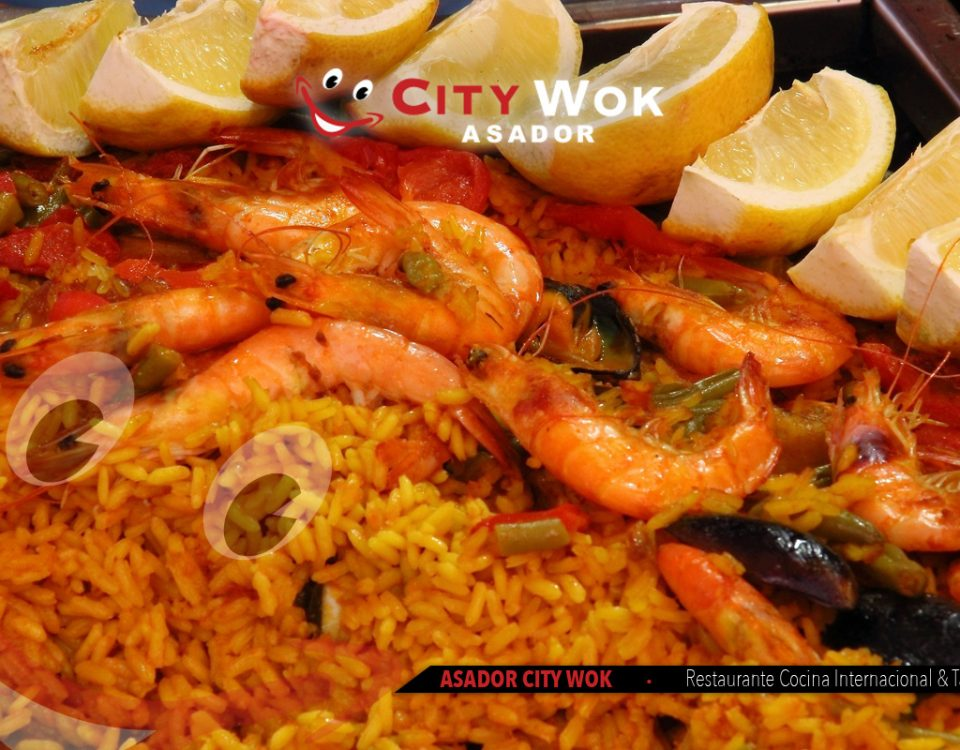paella de marisco city wok