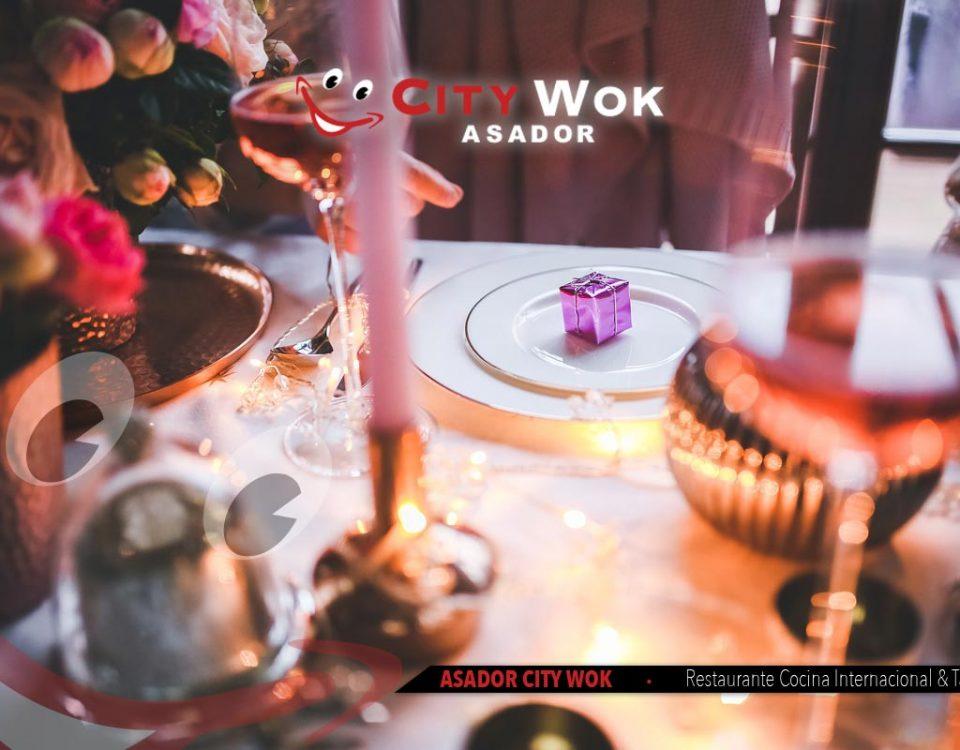 Celebra Nochebuena en Asador City Wok de Guipuzcoa