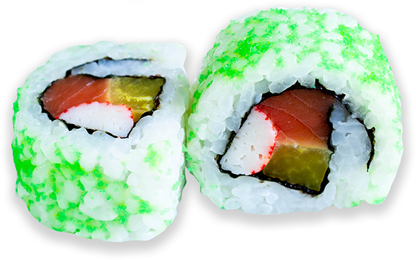 California Maki de Masago verde