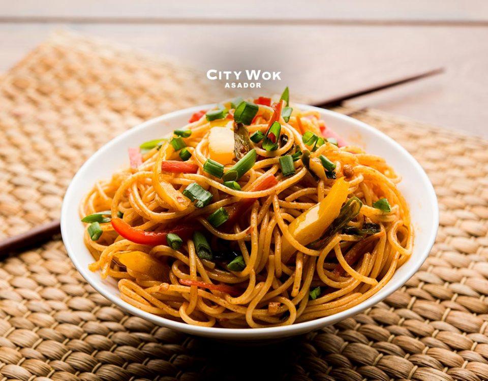 Fideos chinos, un plato increíble